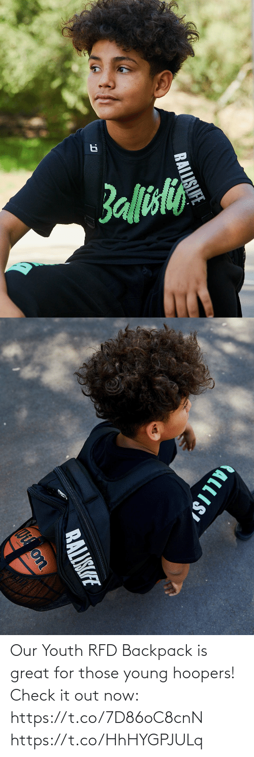 Young: Our Youth RFD Backpack is great for those young hoopers!  Check it out now: https://t.co/7D86oC8cnN https://t.co/HhHYGPJULq