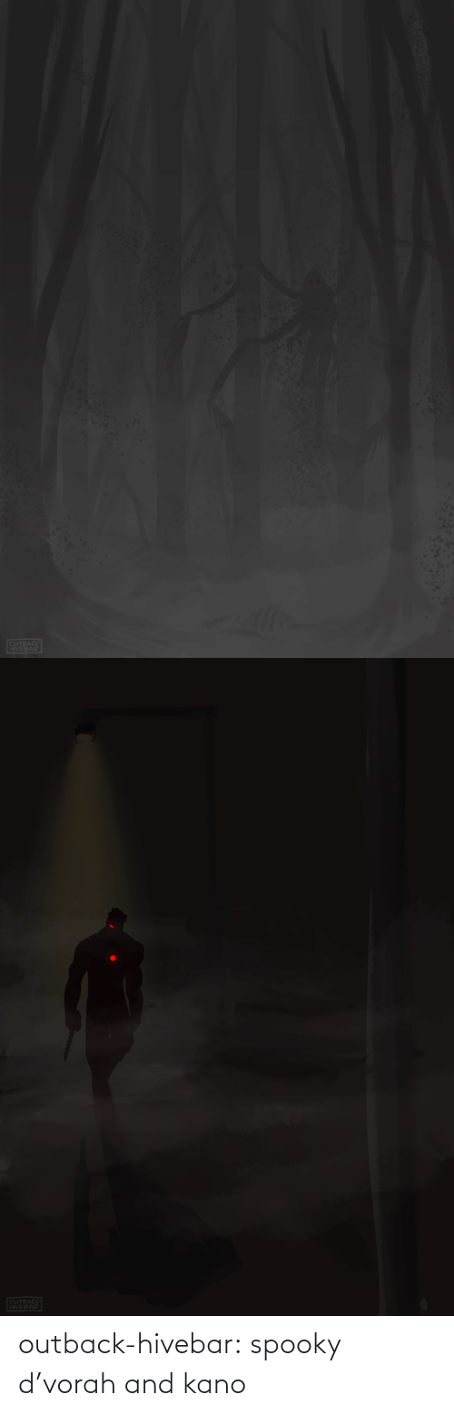 Outback: outback-hivebar:  spooky d'vorah and kano