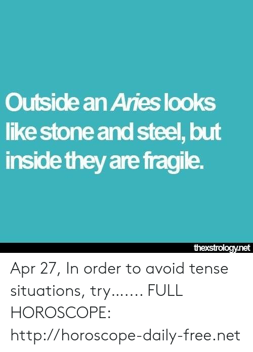 Outside an Aries Looks Like Stone and Steel but Inside They Are