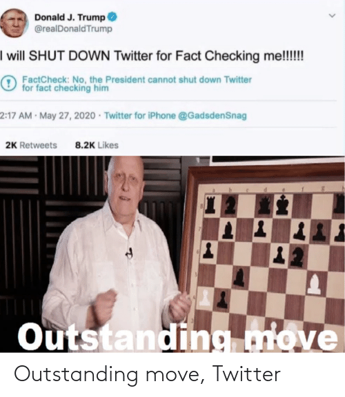 Outstanding Move: Outstanding move, Twitter