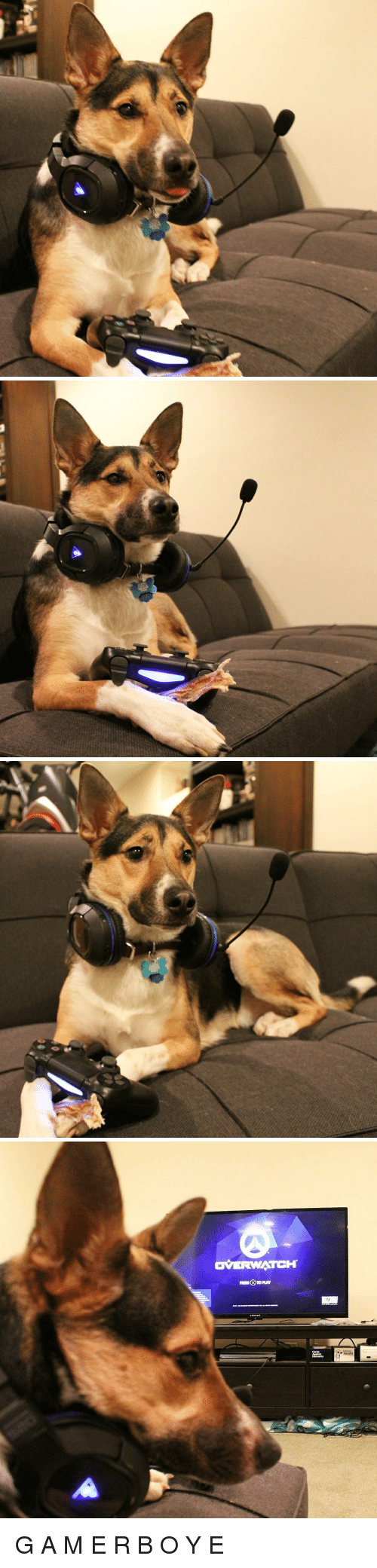 Overwatch, Wanted, and Play: OVERWATCH  Cards G A M E R B O Y E