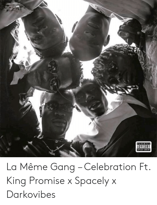 Darkovibes: PALEEIAI  ADVISORY  UPuat tst La Même Gang – Celebration Ft. King Promise x Spacely x Darkovibes