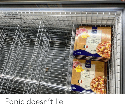 panic: Panic doesn't lie