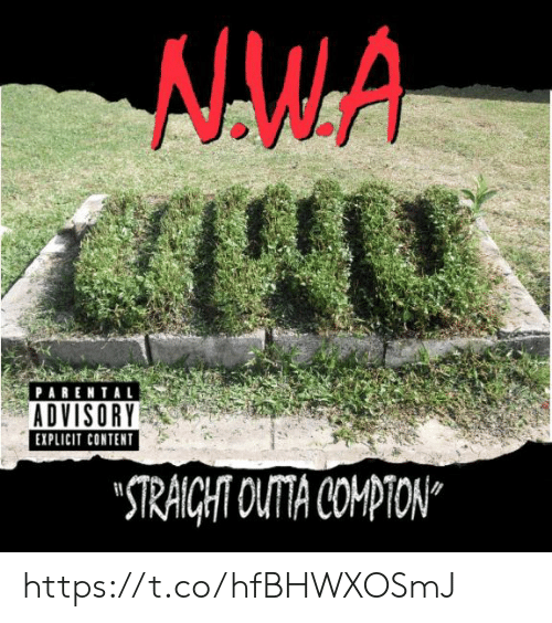 "explicit: PARENTAL  ADVISORY  EXPLICIT CONTENT  ""TRAICHT OUTA COMPTON https://t.co/hfBHWXOSmJ"