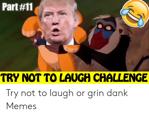 Or Grin: Part#11  TRY NOT TO LAUGH CHALLENGE Try not to laugh or grin dank Memes