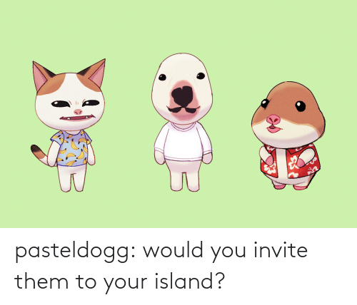 Invite: pasteldogg:  would you invite them to your island?