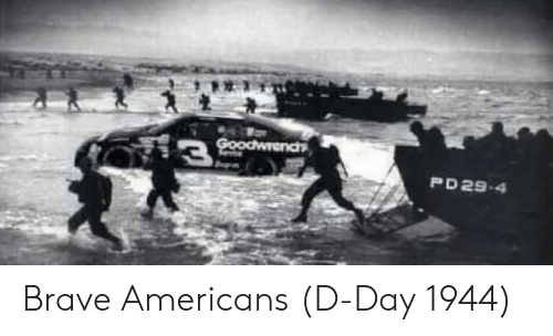 d-day: PD29-4 Brave Americans (D-Day 1944)