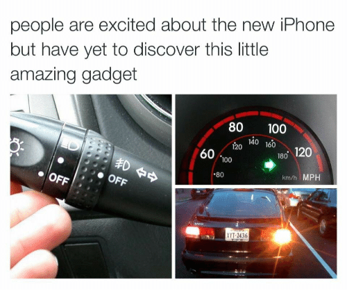 Anaconda, Iphone, and Discover: people are excited about the new iPhone  but have yet to discover this little  amazing gadget  80 100  4o 160  120140 160  60 100  180 120  OFFOFF  .80  km/h MPH  XYT-2436