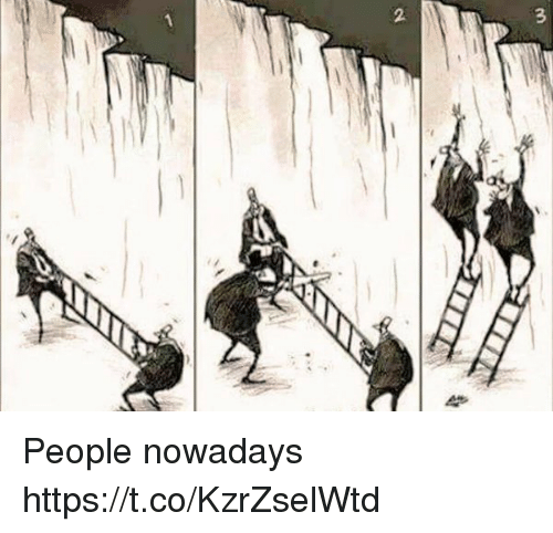 People Nowadays: People nowadays https://t.co/KzrZselWtd