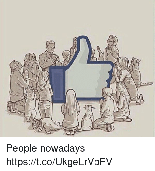 People Nowadays: People nowadays https://t.co/UkgeLrVbFV