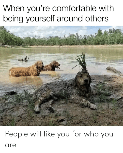 Like You: People will like you for who you are