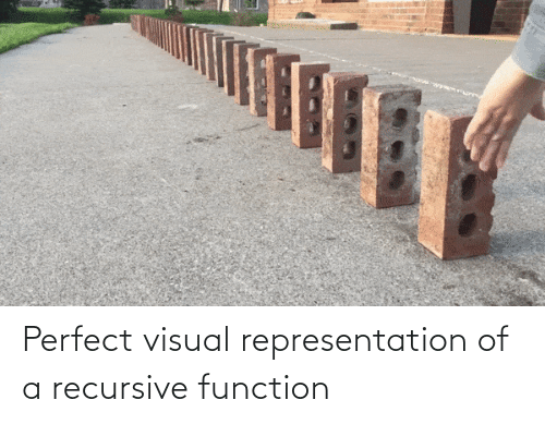 perfect: Perfect visual representation of a recursive function