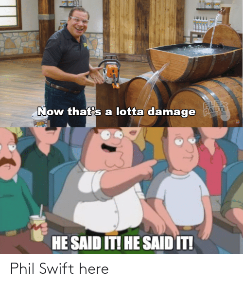 swift: Phil Swift here
