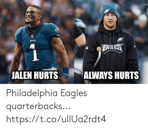 Philadelphia: Philadelphia Eagles quarterbacks... https://t.co/uIlUa2rdt4