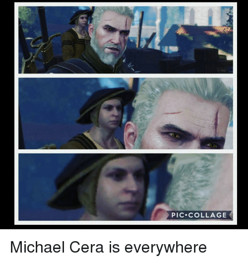 Collage: PIC.cOLLAGE Michael Cera is everywhere