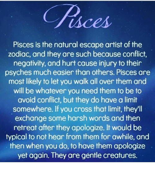Pisces Is the Natural Escape Artist of the Zodiac and They