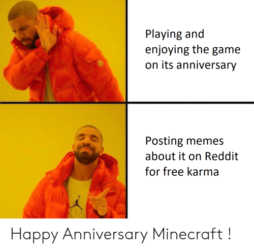 Playing and Enjoying the Game on Its Anniversary Posting Memes About