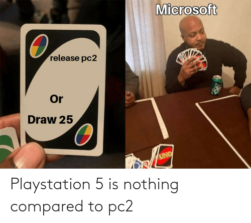 PlayStation: Playstation 5 is nothing compared to pc2