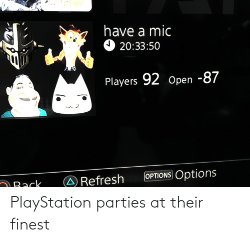 PlayStation: PlayStation parties at their finest