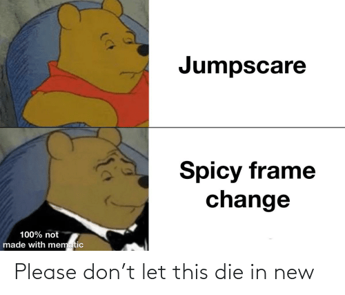 Please Don: Please don't let this die in new