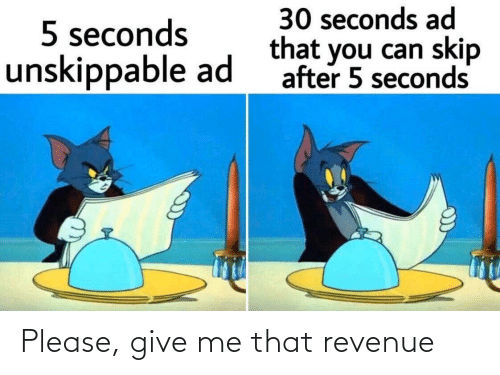 give me: Please, give me that revenue