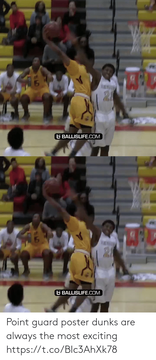 exciting: Point guard poster dunks are always the most exciting https://t.co/BIc3AhXk78