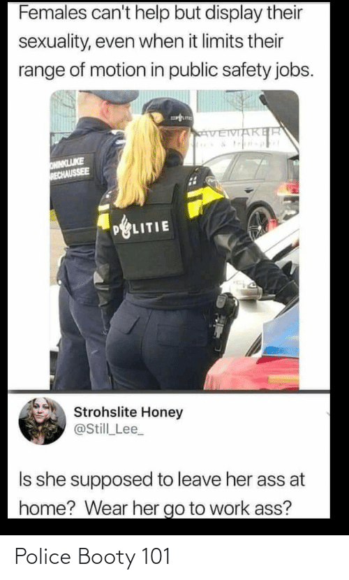 Booty: Police Booty 101