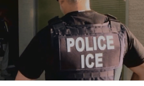 Police and Ice: POLICE  ICE