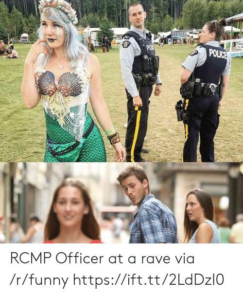 Funny, Police, and Rave: POLICE RCMP Officer at a rave via /r/funny https://ift.tt/2LdDzI0