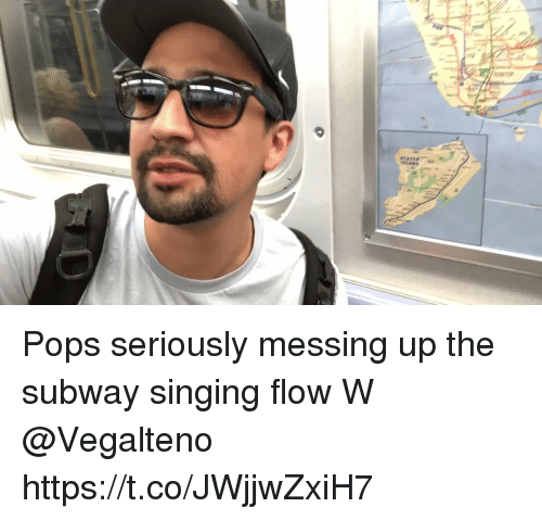 Memes, Singing, and Subway: Pops seriously messing up the subway singing flow  W @Vegalteno https://t.co/JWjjwZxiH7