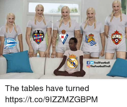 The Tables Have Turned: PORT  fTrollFootball  TheFootballTroll The tables have turned https://t.co/9IZZMZGBPM