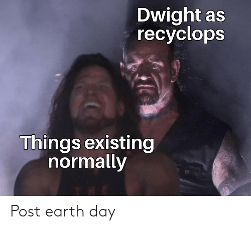 Earth Day: Post earth day