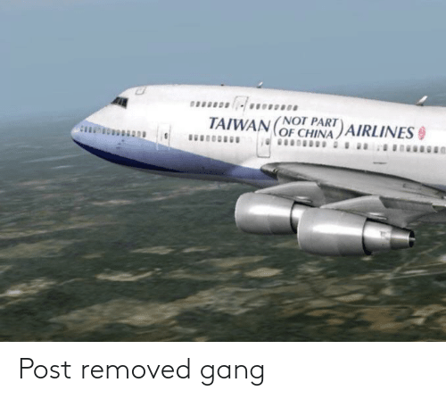 Removed: Post removed gang