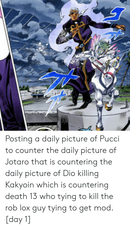 Posting a Daily Picture of Pucci to Counter the Daily
