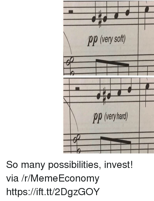 Invest, Via, and Ppp: Ppp (very soft)  Op (veyhad So many possibilities, invest! via /r/MemeEconomy https://ift.tt/2DgzGOY