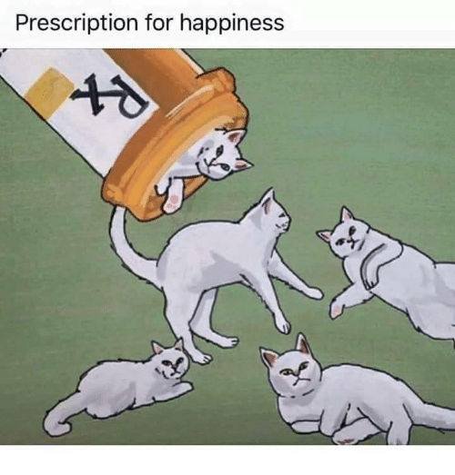 Happiness, For, and Prescription: Prescription for happiness