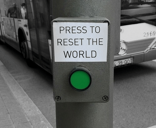reset: PRESS TO  RESET THE  WORLD  2169