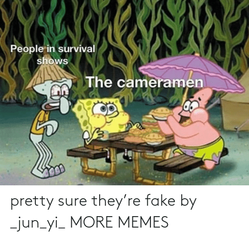 sure: pretty sure they're fake by _jun_yi_ MORE MEMES