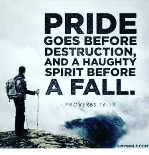 essay pride goes before fall Below is an essay on pride goes before a fall from anti essays, your source for research papers, essays, and term paper examples.