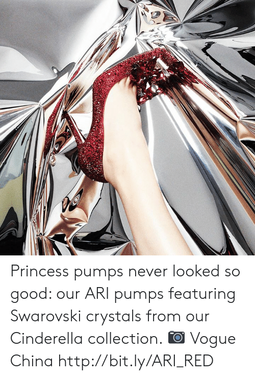 vogue: Princess pumps never looked so good: our ARI pumps featuring Swarovski crystals from our Cinderella collection. 📷 Vogue China http://bit.ly/ARI_RED
