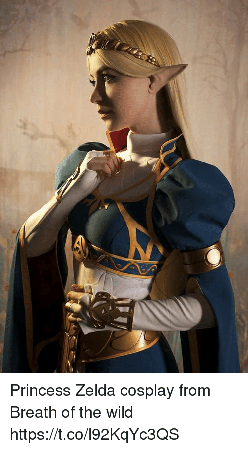 Breath Of The Wild: Princess Zelda cosplay from Breath of the wild https://t.co/l92KqYc3QS