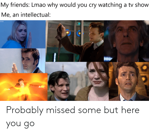 Doctor Who: Probably missed some but here you go