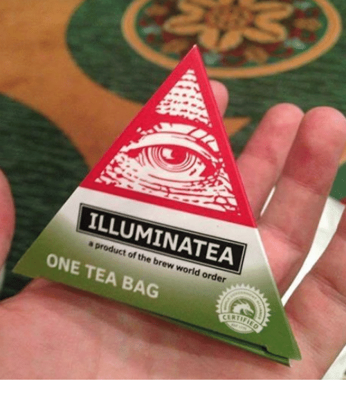 tea bagging: product the A  of brew world order  ONE TEA BAG