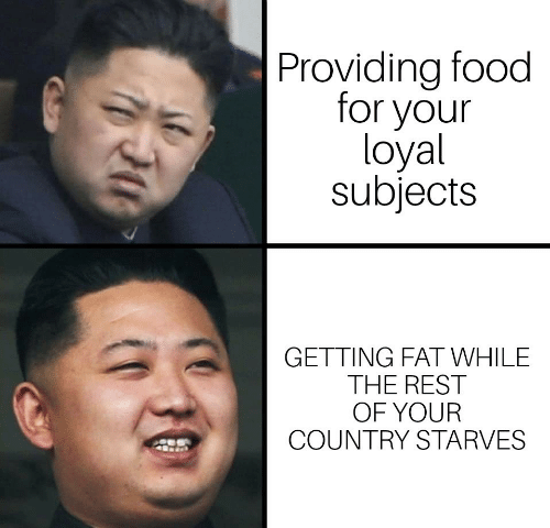 Food, Fat, and Rest: Providing food  for your  loyal  subjects  GETTING FAT WHILE  THE REST  OF YOUR  COUNTRY STARVES