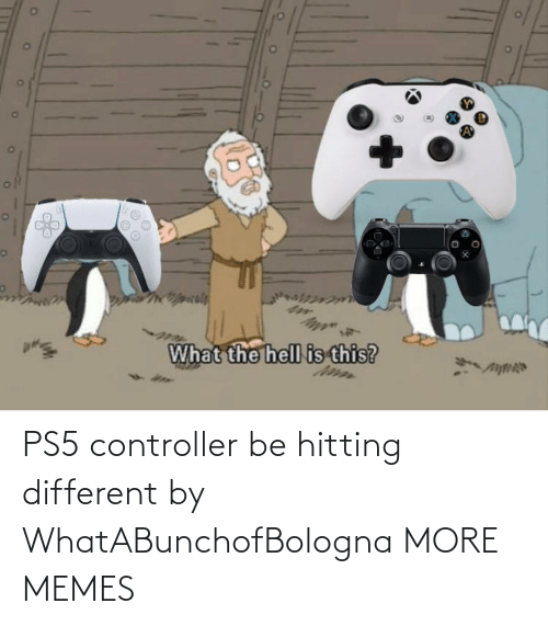 hitting: PS5 controller be hitting different by WhatABunchofBologna MORE MEMES