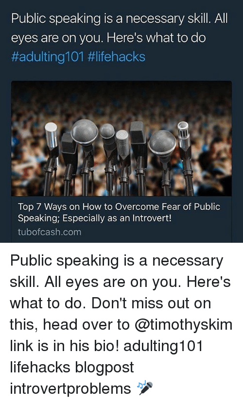 Dos and Don'ts of Public Speaking: Make Your Speech Count