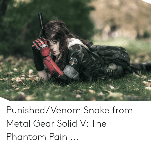 Snake, Metal Gear, and Pain: Punished/Venom Snake from Metal Gear Solid V: The Phantom Pain ...
