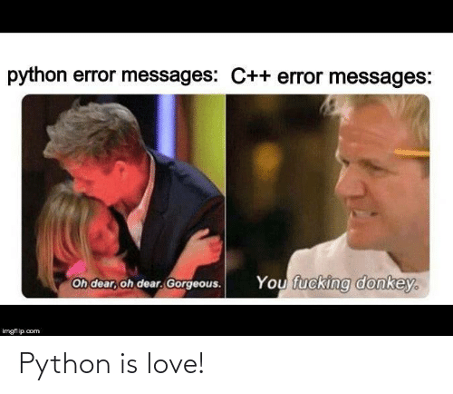 Is Love: Python is love!