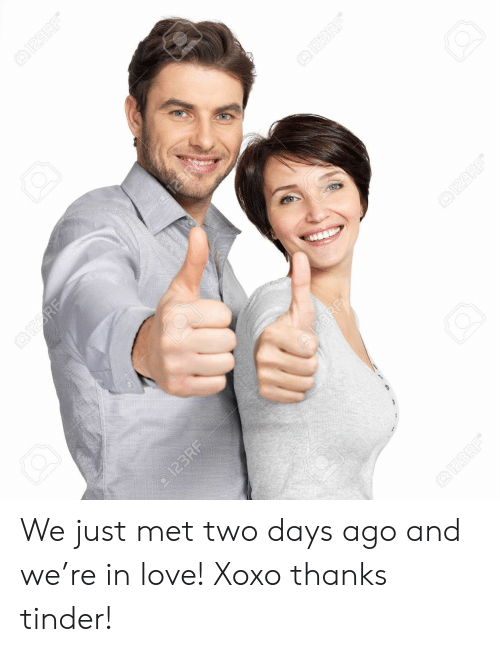 123Rf: QI23RF  123R  9123 RF  123RF  @123RF  @122RF  QI23RF  123RF We just met two days ago and we're in love! Xoxo thanks tinder!