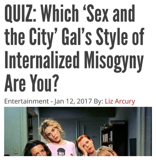 Which sex and the city character quiz